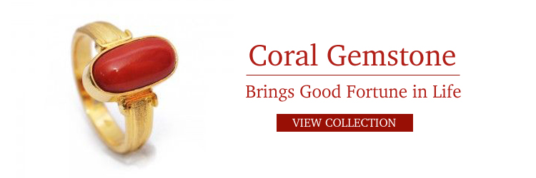 Coral Gemstone For Good Fortune