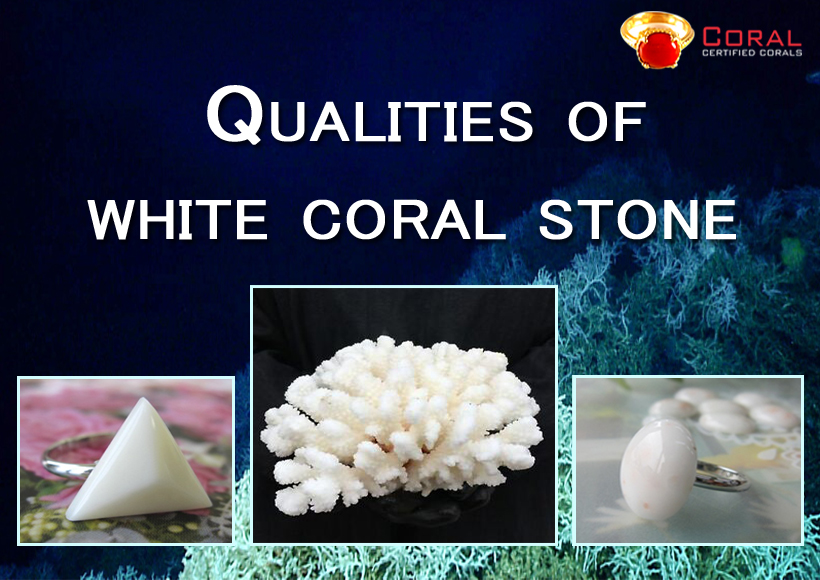 Qualities Of A White Coral Stone