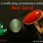 Conflicting Gemstones With Red Coral