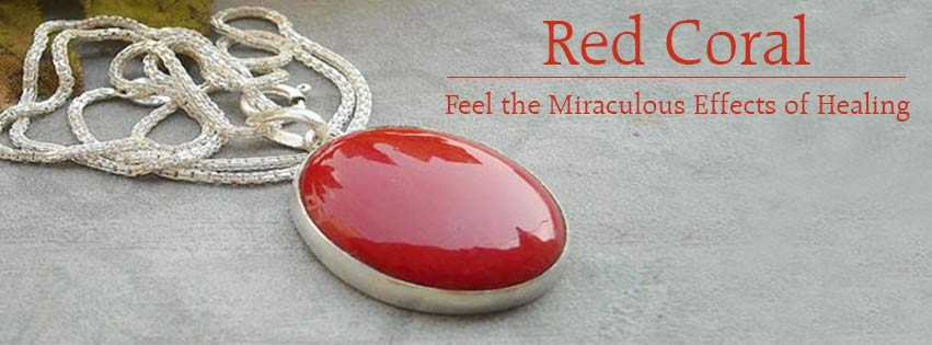 with round coral red border craft vintage heavenly pendant