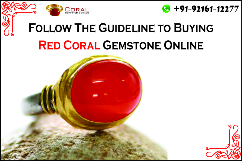 Tips On Buying Red coral Gemstone Online