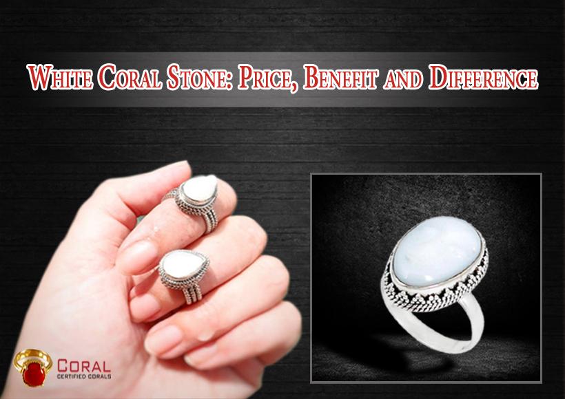 white coral gemstone